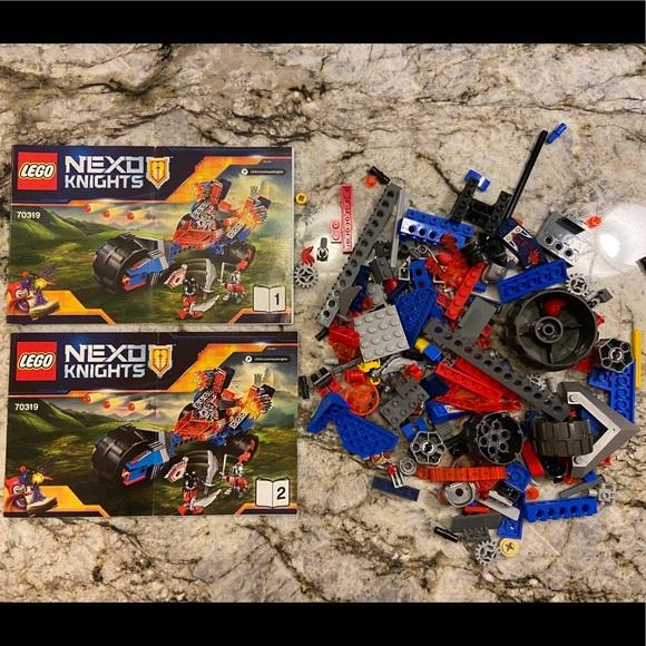 Lego 70319 Nexo Knights Macy's Thunder Mace Set